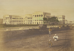 Government House, Calcutta (under repair at the time of taking this view)